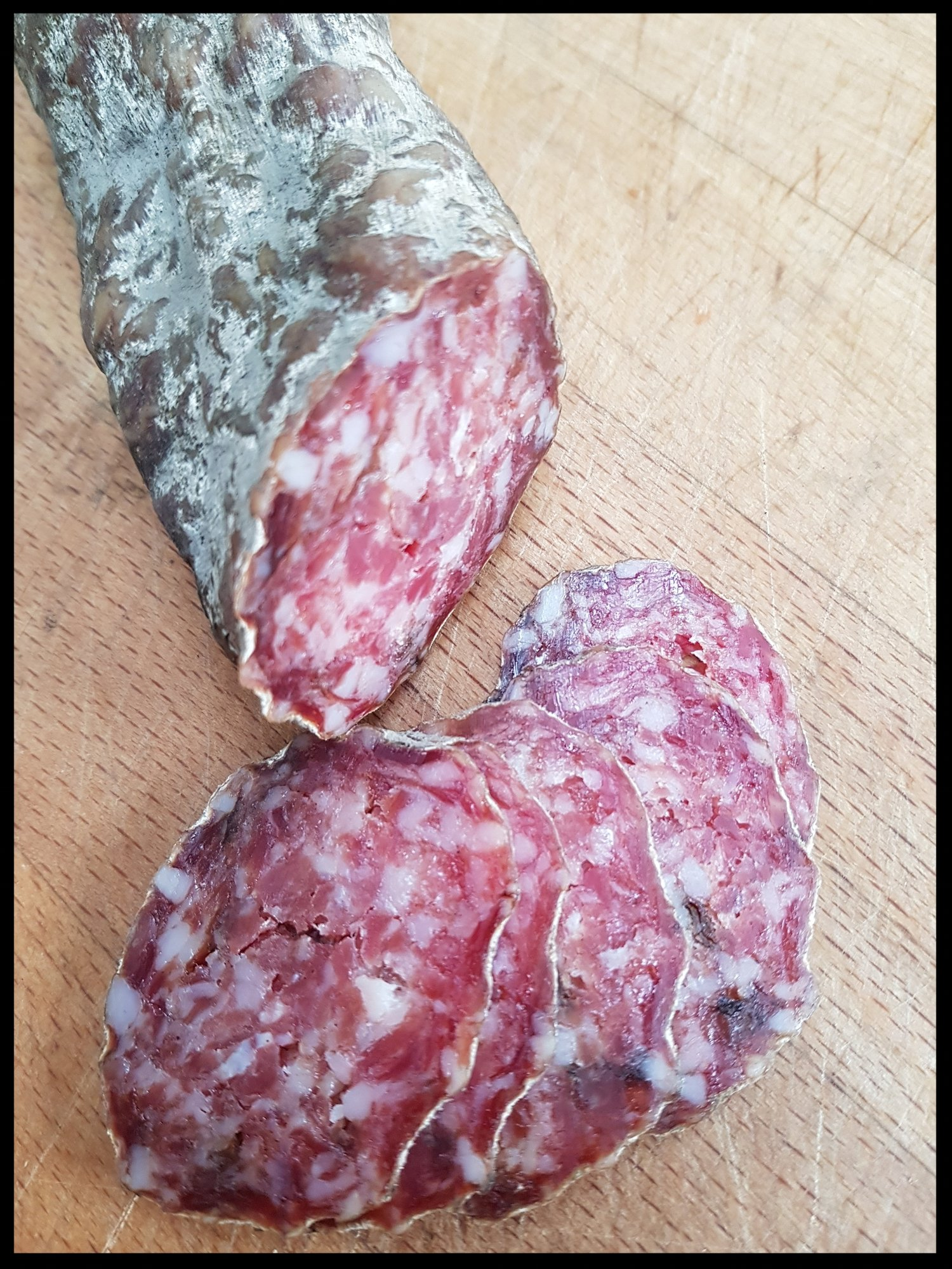 Porcini Mushroom Salami