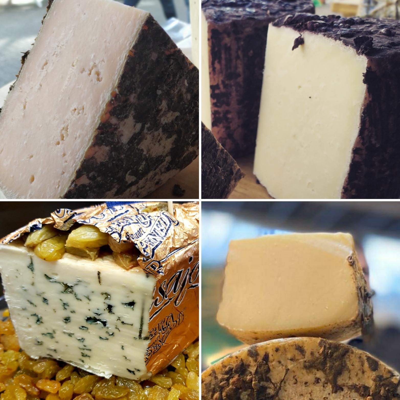 Cheese made of non-cow milk composite