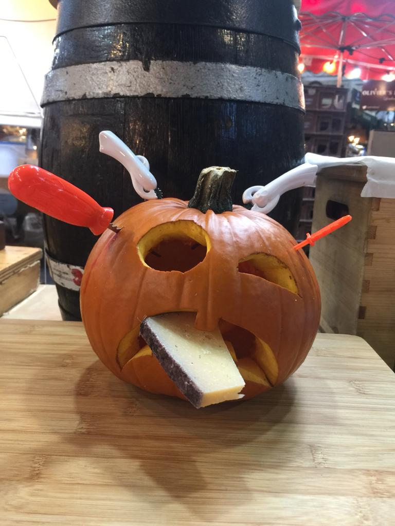 Ubriaco Classico in a Haloween pumpkin